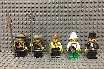 Lego Adventurers Minifigure Lot of 5 Orient Expedition 7419 7416 Dragon Fortress