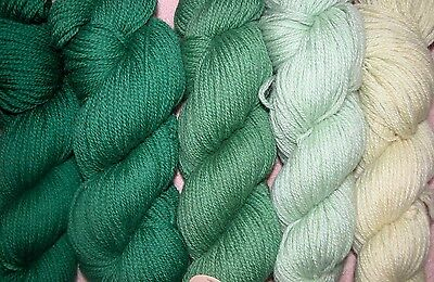 Hunter Green Family   New Paternayan Wool 3Ply Persian Yarn Needlepoint Crewel