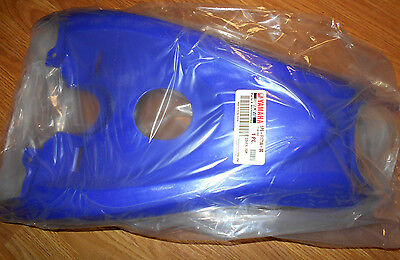 Used, YAMAHA RAPTOR 700 BLUE FRONT FENDER GAS TANK COVER COVER 13-16, 1PE-F171A-30-00 for sale  Sapulpa