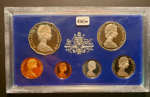 1979 Australian 6 Coin Proof Set (PS-41)  FREE SHIPPING!!
