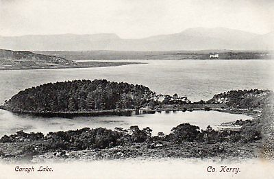 CARAGH LAKE CO KERRY IRELAND POSTCARD by LAWRENCE