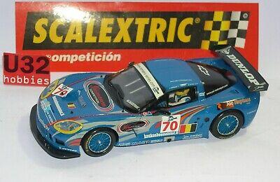 Scalextric Scx 62520 Chevrolet Corvette C6R Kuismanen Menten Palttala Boite