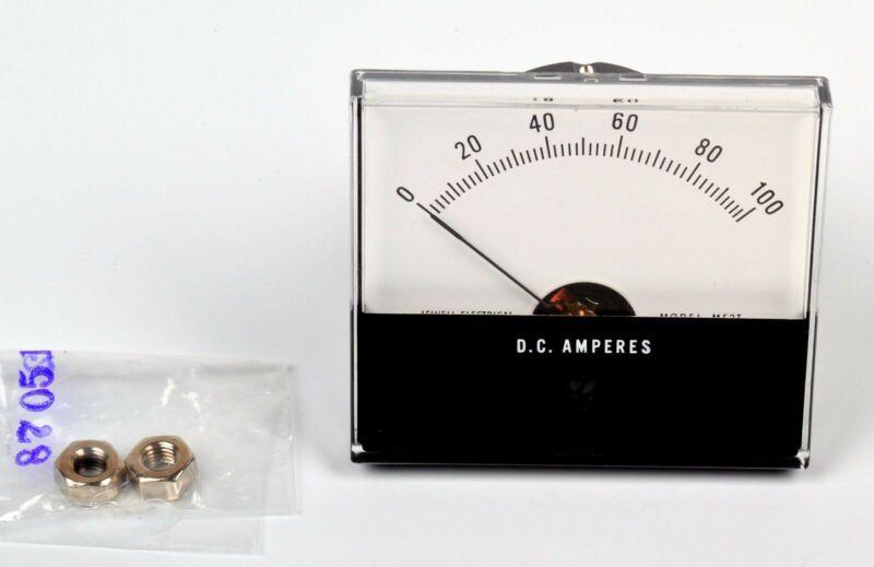 New Jewel Ammeter 0 - 100 DC D.C. Amperes