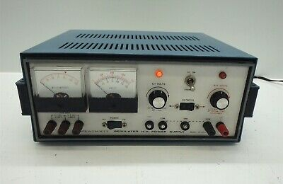Heathkit Ip-2717 Regulated High Voltage Power Supply