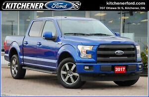 2017 Ford F-150 Lariat LARIAT SPORT/5.0L V8/SUNROOF/20in RIMS
