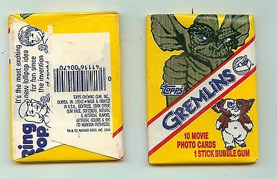 1984 Topps Gremlins single Wax Pack