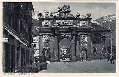 AK, Foto, Innsbruck, Triumphpforte,  (D)5026-4