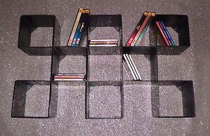 Libreria porta cd dvd design ferro realizzazioni - Libreria porta dvd ...