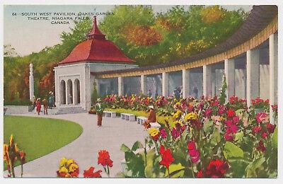 Pretty Flower Bed - Pretty Flower Beds At Oakes Garden Theatre Niagara Falls Ontario Canada