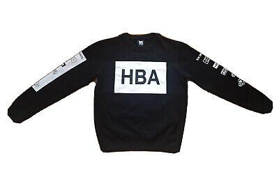 Hood by Air HBA Been Trill Medium Black Crewneck Streetwear Sweatshirt RARE
