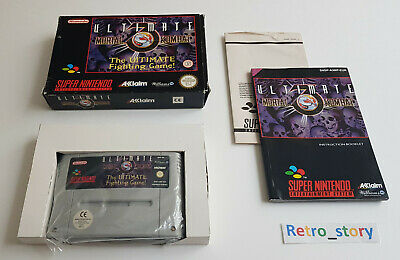 Super Nintendo SNES - Ultimate Mortal Kombat 3 - PAL - EUR comprar usado  Enviando para Brazil