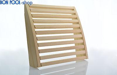 Sauna Backrest from Abachiholz adjustable BON POOL