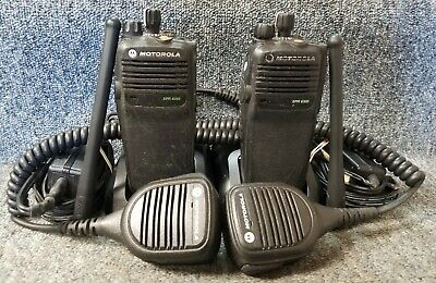 Motorola Xpr6350 Vhf Digital Dmr 32 Chan Set Of 2 Radios W Mic Buy 1 To 5 Sets