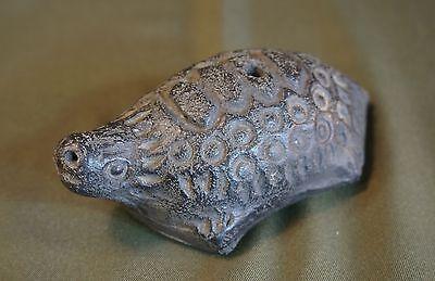 Very Rare Korean Joseon Dynasty Earthen Ware Turtle Shape Water Dropper