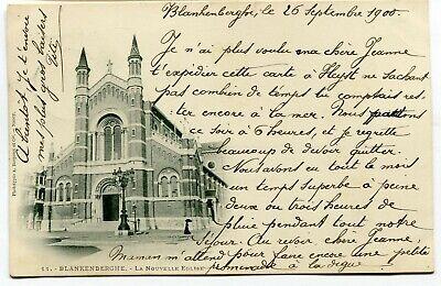 CPA - Carte Postale - Belgique - Blankenberghe - La Nouvelle Eglise - 1900
