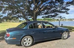 2002 Jaguar S Type V6 Se 5 Sp Automatic 4d Sedan
