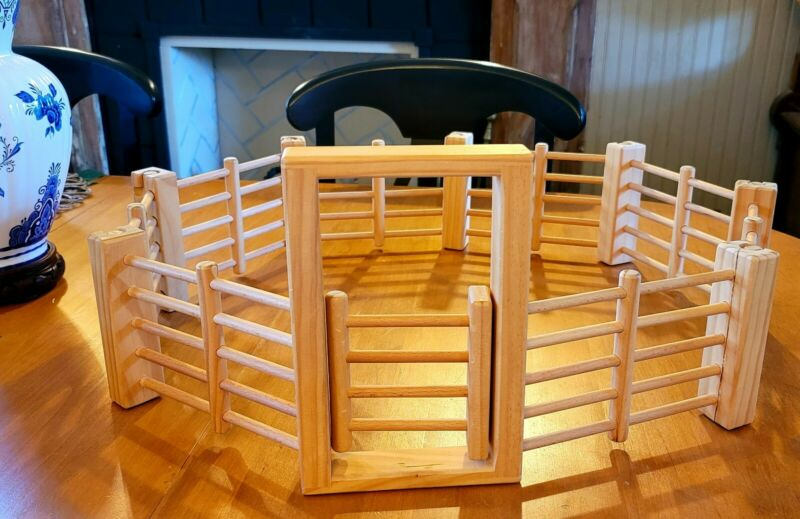 Toy Wooden Stable Corral