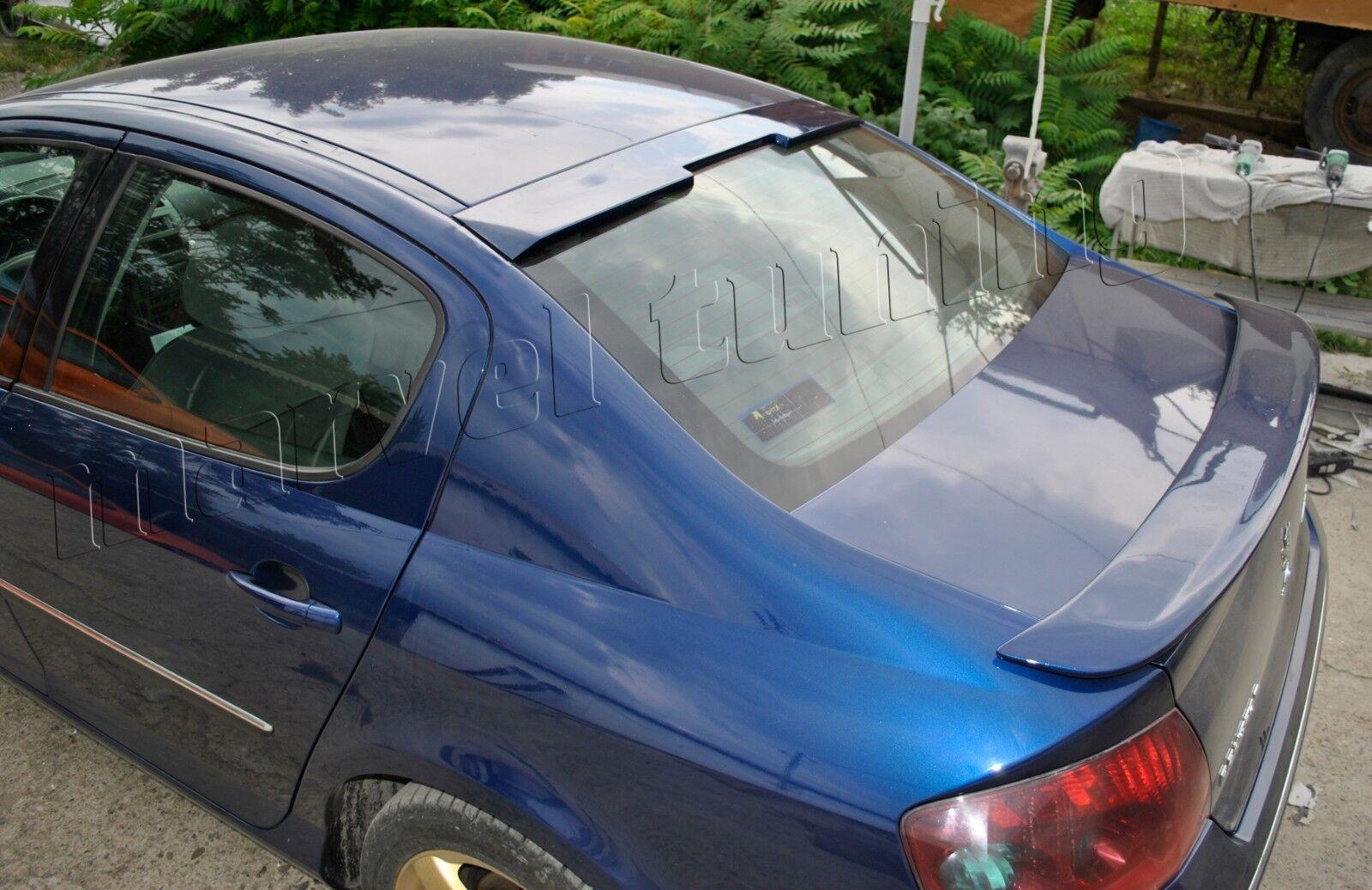 SALOON Rear Roof Window Spoiler sun guard Peugeot 407 4 door