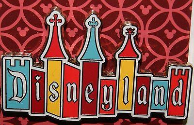 Disneyland Disneyland Logo Retro Castle Pin