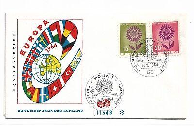 Bundesrepublik Deutschland  445-46  FDC