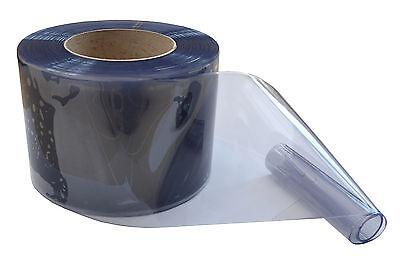 PVC Streifenvorhang Lamellen Streifen 200x2mmx25mtr klare Rolle