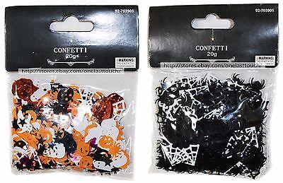 MOMENTUM 20g Decor CONFETTI Party Supplies HALLOWEEN Decoration *YOU CHOOSE* - Halloween Party Supplies