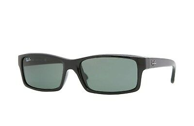 Ray Ban Sunglasses RB4151 601 Glossy Black Frame W/ Classic Grey-Green Lens NEW
