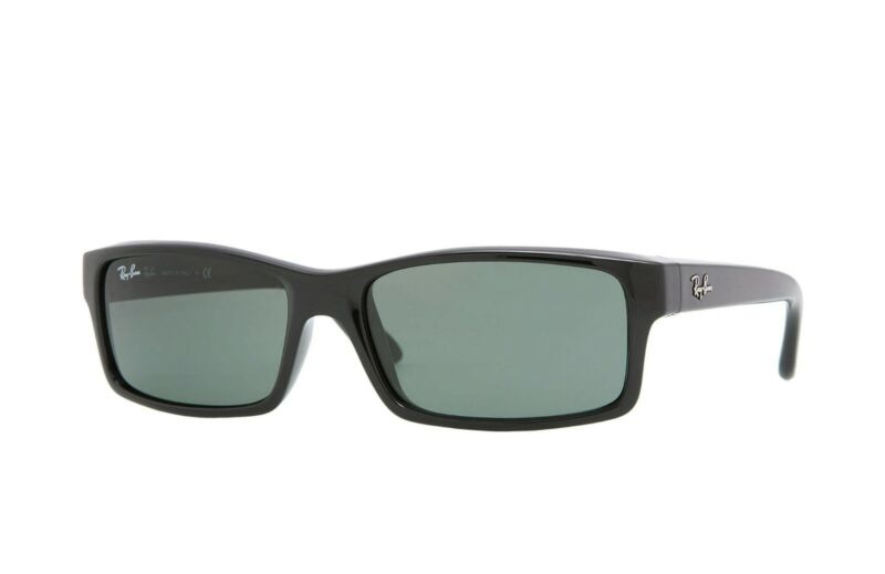 0f6c1304dcde5 Ray Ban Sunglasses RB4151 601 Glossy Black Frame W  Classic Grey-Green Lens  NEW