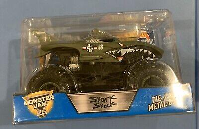 Hot Wheels Monster Jam Shark Shock 1:24 Scale Diecast Truck