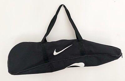"NIKE Baseball Softball Bat Gear Equipment Bag Black with White Logos 36""L"