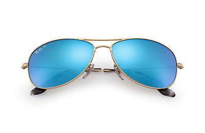 Ray-Ban RB3562 Chromance Polarized Blue Mirror Lens Pilot Aviator Sunglasses NIB