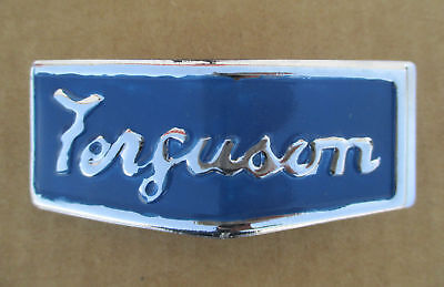 Metal Front Emblem For Massey Ferguson Mf Te-20 Tea-20 To-20 To-30