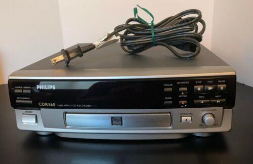 Philips CDR560 Mini Audio CD Recorder