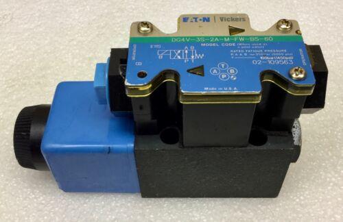 VICKERS DG4V-3S-2A-M-FW-B5-60 DIRECTIONAL CONTROL VALVE 02-109563 NEW NO BOX