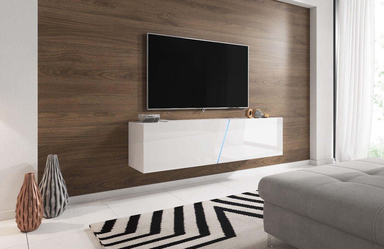 Sideboard Lowboard TV Fernsehschrank SLAMT 160 cm Kommode inkl LED Highboard