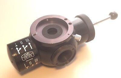 Carl Zeiss Fluorescence Tube Microscope Illuminator Light Filter