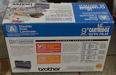 Genuine Brother Lc-d9 Cool Laminator 9 Cartridge With Film Double Side Laminate
