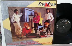 Five-Star-All-Fall-Down-12-034-Single-Remixed-Extended-Mixes-From-LP-Luxury-of-Life
