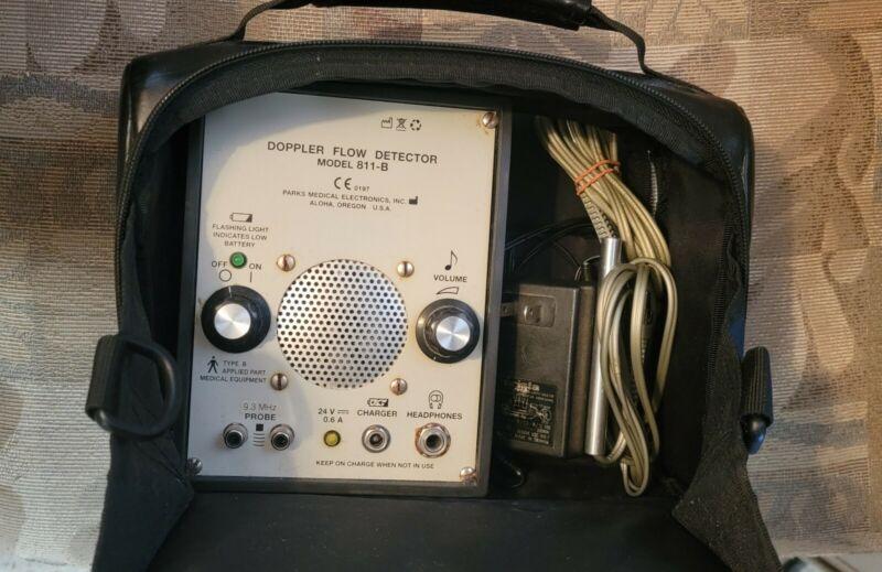* Parks Medical Electronics Doppler Flow Detector Model 811-B