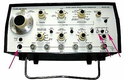 Wavetek Sweep Modulation Generator Model 193 20 Mhz 110 Volts Used