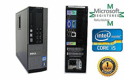 Lot 2  Dell 790 SFF Computer Intel Core i5 2400 QC 3.10GHZ NO HD 4gb Ram NO OS