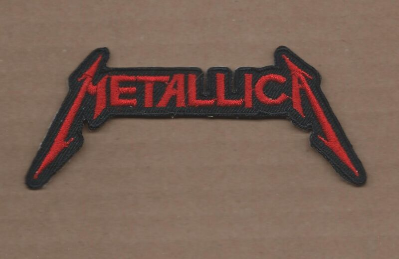 NEW 2 1/8 X 4 1/2 INCH METALLICA IRON ON PATCH FREE SHIPPING