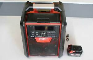 Milwaukee M18RC Jobsite Radio / Charger Inc Battery Nerang Gold Coast West Preview