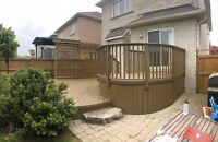 Richmond Hill Student Painter's - Deck and Fence Staining
