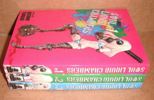 Soul Liquid Chambers Vol. 1,2,3 Manga Graphic Novels Complete Set English