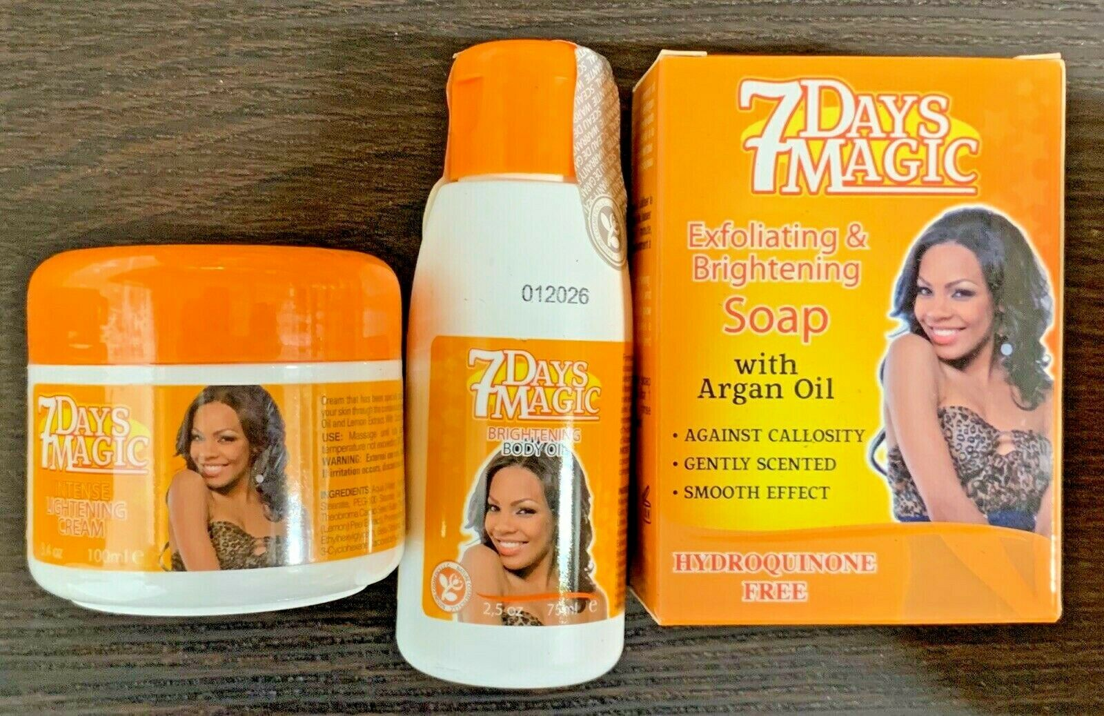 7 Days Magic Lightening Cream Hydroquinone Free 100 Ml / Oil
