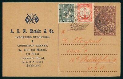 Mayfairstamps Pakistan AKM Ebrahim and Co Card wwo_59613