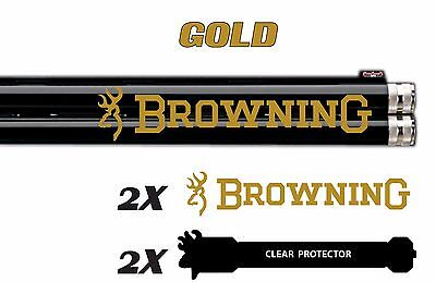 Browning Vinyl Decal Sticker For Shotgun / Rifle / Case / Gun Safe / Car B