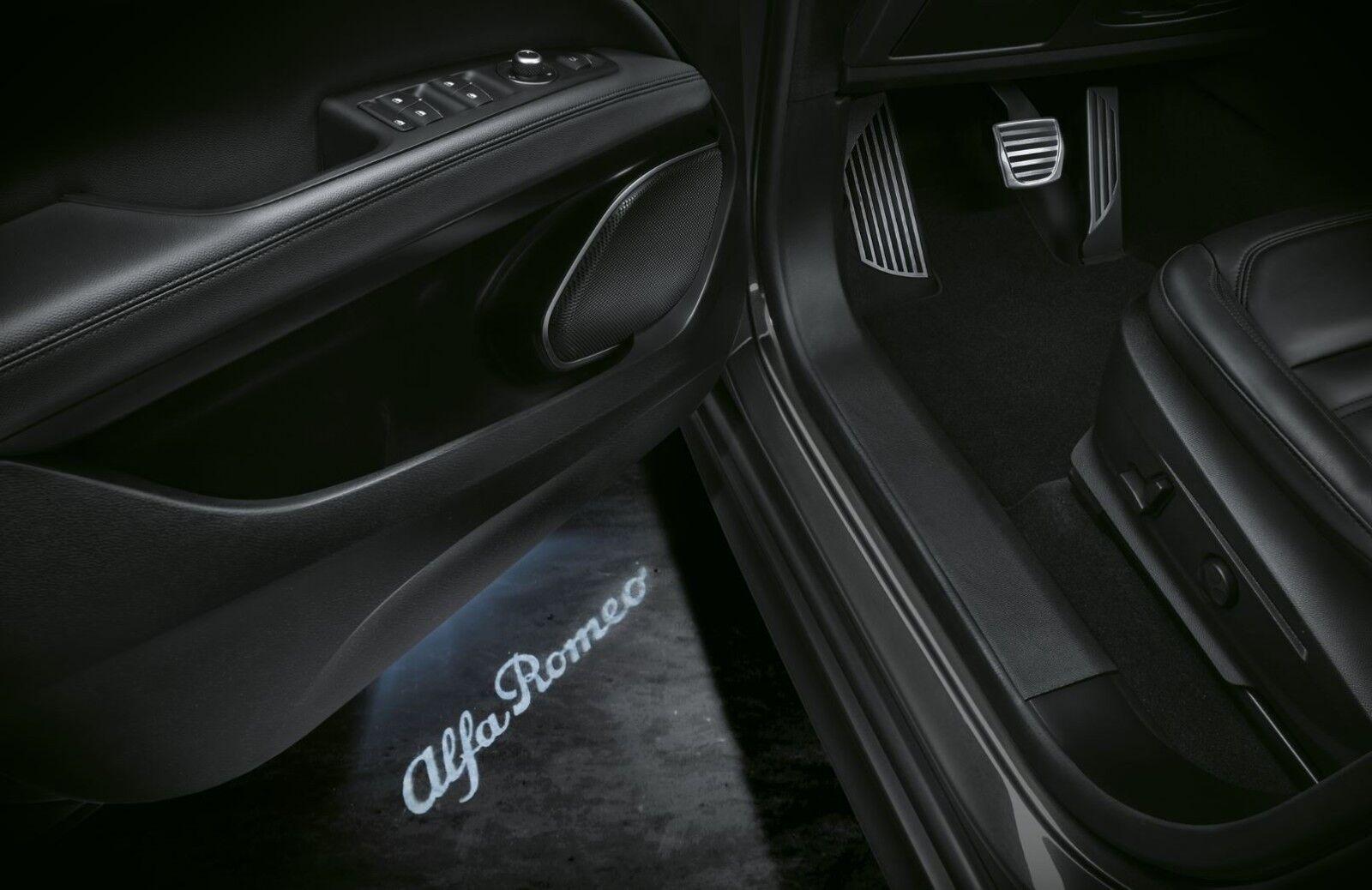 Alfa Romeo Giulietta 2016 On Door Sill Led Logo Puddle