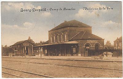 AK LEOPOLDSBURG Bourg Leopold Belgien 1915 Bahnhof   ( 1126